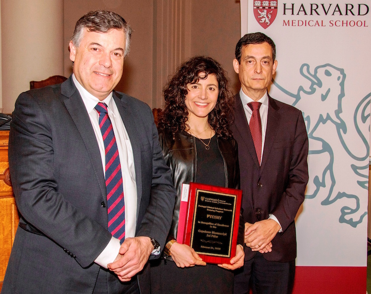 Imagem da notícia: FMUC professor awarded by the Harvard Medical School