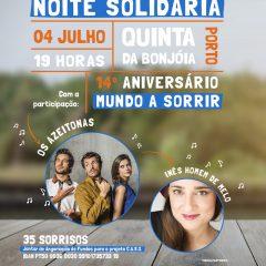 """Imagem da notícia: Mundo A Sorrir organizes """"Solidarity Evening"""" in Porto"""