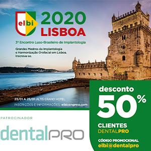 Imagem da notícia: DentalPro Readers have a disccount on the 3rd ELBI
